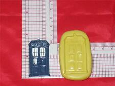 DR WHO Tardis Time Machine A629 Silicone Mold Candy Food Cake Chocolate
