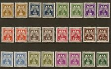 1943 Official Stamps Postage Dues Mint unhinged