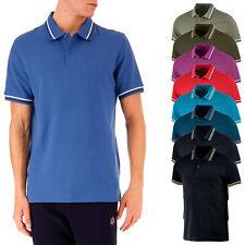 Polo Lotto Uomo T-shirt 100% Cotone Maglietta Comoda Maglia Mezza Manica Corta