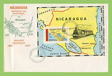 First Day Cover Nicaragua Stamps