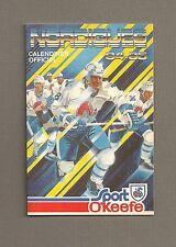 1984-85 Sked Quebec Nordiques NHL Pocket Schedule
