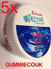 5 X 150 Ml Sector Super Cire, Cire De Bubblegum, Super cire,Hairmate cire