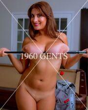 1990s NUDE 8X10 BIG BREASTS NIPPLES VALORY IRENE PHOTO FROM ORIGINAL NEG-1G