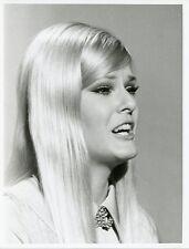 GLORIA LORING PRETTY SINGING PORTRAIT ORIGINAL 1971 NBC TV PHOTO