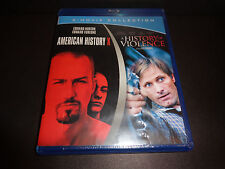 AMERICAN HISTORY X & A HISTORY OF VIOLENCE-Blu Ray Double Feature-Edward Norton