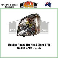 HEADLIGHT suit HOLDEN RODEO RA L/H LEFT PASSENGER SIDE 2003-2006