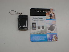 IPHONE EMERGENCY KEYRING SOLAR BATTERY CHARGER SMALL LIGHTWEIGHT BLACK NEW