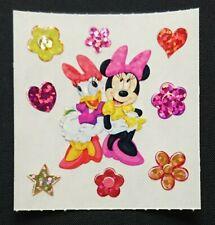 Stickeralbum Sticker Vintage 90er Jahre Sandylion Glitzer Prismatic Disney