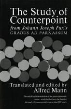 Study of Counterpoint, Songbooks, General, Composition, Theory, Music, Qualifyin