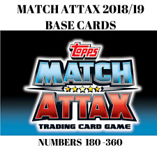 MATCH ATTAX 2018/19 18/19 BASE CARDS #180-360 BUY ANY 2 GET 1 FREE! LIVERPOOL,..