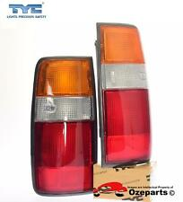 Pair LH+RH Tail Light Rear Lamp For Toyota Landcruiser 80 Series 1990~1998
