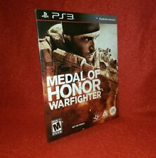 Medal of Honor: Warfighter (Sony PlayStation 3 PS3, 2012)