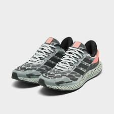 Adidas 4D Run 1.0 Running Shoes Black / Green / Coral Size 14 FW1233