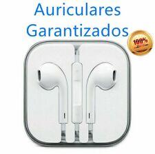 Auriculares Cascos Blancos con Micro para Musica Moviles Telefonos MP3 con Jack