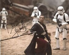 Star Wars Rogue One Signed DONNIE YEN 8x10 Photo w/ In Flicks Hologram COA