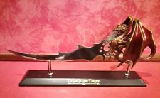 "The Noble Collection - ""Dragon Flame Dagger"" With Stand"