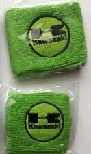 Polsino polsini Moto Serbatoio Olio Freno Frizione logo Kawasaki Verde Ninja
