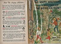 Happy Hollisters #31 MYSTERY OF MEXICAN IDOL, First Edition, 1967, Hardcover, DJ