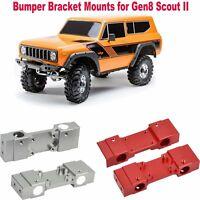 1/10 RC Car Redcat Racing Aluminum Metal Bumper Bracket Mounts for Gen8 Scout II