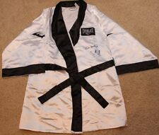 HEAVYWEIGHT CHAMPS LEON & MICHAEL SPINKS AUTOGRAPHED SIGNED EVERLAST BOXING ROBE