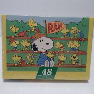 Vintage (1965) Springbok Hallmark Peanuts 48Pc Puzzle Snoopy Woodstock