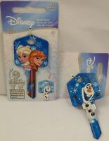 FROZEN ELSA, ANNA & OLAF REVERSIBLE KW1 / 66 HOUSE KEY! FREE NEXT DAY SHIPPING!!