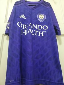 Adidas Orlando City 2019 SC Home Soccer Jersey Youth Size L Authentic NWT