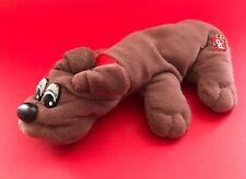 Vintage 1980's Tonka Mini Brown Pound Puppies Plush Doll Toy