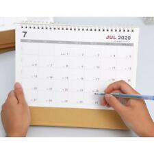 2020 Desk Calendar Simple Style Calendar Desktop Calendar For Home Office Desks