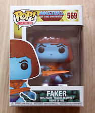 Funko Pop Masters Of The Universe Faker + Free Protector