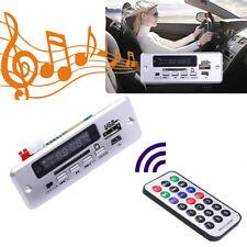 Bluetooth Car MP3 Decoder Board U Disk TF Panel Module with Remote Controller PR