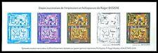 FRANCE EPREUVE DE LUXE COULEURS LUXUSBLOCK MALEREI PAINTING ART BISSIERE z1677