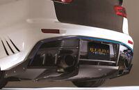 UNIVERSAL Rear Diffuser Varis Style 70cm Vortex Aero Performance v7