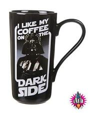 OFFICIAL STAR WARS DARTH VADER THE DARK SIDE RETRO LATTE MUG COFFEE CUP NEW