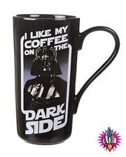OFFICIAL STAR WARS DARTH VADER THE DARK SIDE RETRO LATTE MUG COFFEE CUP NEW