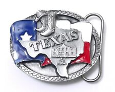 TEXAS SMALL BELT BUCKLE 14024 new flag state pride western belt buckles