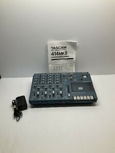 Tascam 414MKII 4 Track Cassette Tape Recorder Excellent Condition Teac