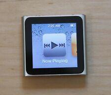 Apple iPod nano 6th Generation 8GB - Silver (MC525LL/A) - excellent - NO RESERVE