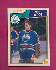 1983-84 OPC # 40 OILERS ANDY MOOG GOALIE NRMT CARD (INV#6275)