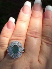 18K GOLD 4.63 CT GIA CERTIFIED BLUISH GREEN TO PURPLE ALEXANDRITE DIAMOND RING!