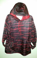 New W/Tag shiny  ENERGY ZONE Size L (42-44) Hoodie Pullover Racing Red