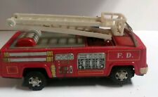 VINTAGE JAPANESE YANOMAN FIRE ENGINE TRUCK TIN TOY