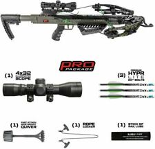 Killer Instinct Boss 405 Crossbow Package NEW with quiver bolts cocking rope