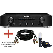 NEW!!! Marantz PM6006 Integrated Amplifier (Black) and Bundle