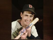 Ted Williams  8x10 signed