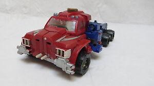 Takara Transformers Robots 2001 in Disguise Optimus Prime Light Up