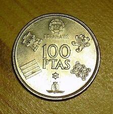 "Spanien - 100 Ptas  - ""WM 82 ""- Juan Carlos I -  !! SUPER PREIS  !! Zugreifen"