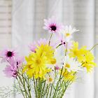 5 Heads Peony Hydrangeas Silk Flower White Wedding Decor Bridesmaid Bouquet FF