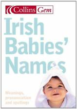 Collins Gem - Irlandese Babies Names di Julia Cresswell libro tascabile