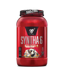 BSN Syntha-6 Protein Powder Cold Stone 2.59 lbs 25SRV Bday Cake EXP 05/20